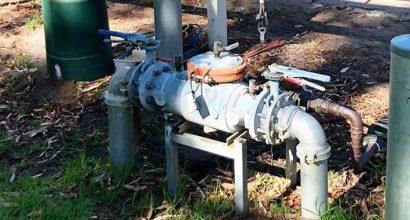Photo of Jewelbic Plumbing & Gas performing backflow testing Perth.