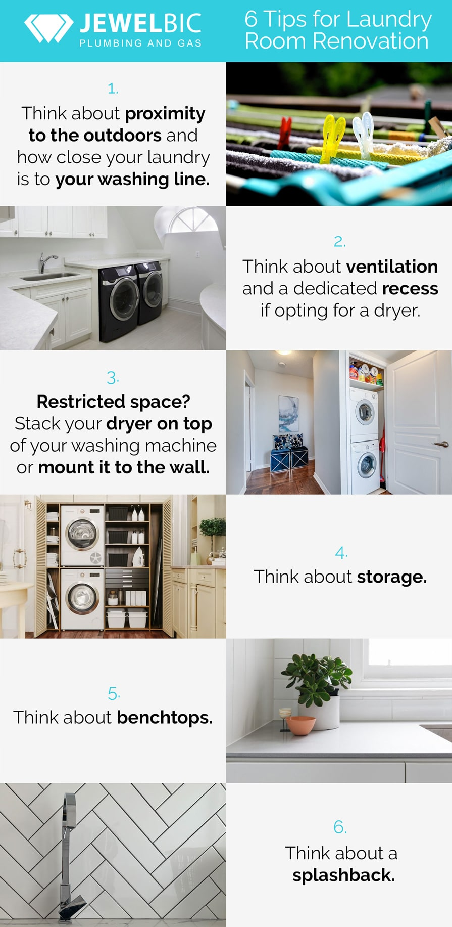 6 Tips for Laundry Room Renovation